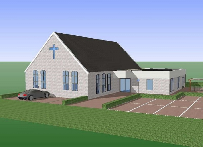 Bestemmingsplan voor een nieuwe Kerk