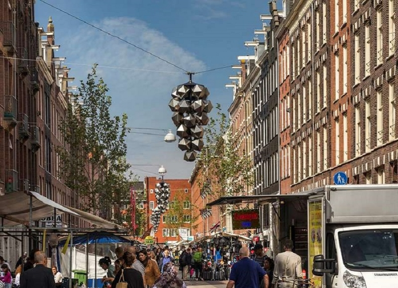 Amsterdam - Ruimtelijke onderbouwing lichtkunstwerk