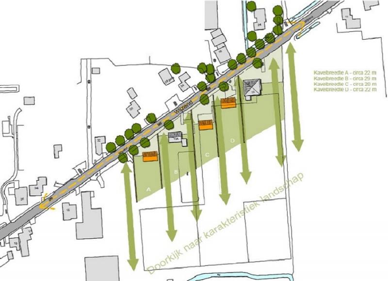 Beeldkwaliteitsplan drie woningen voor kassen in Nibbixwoud