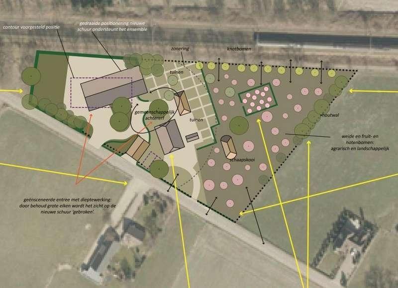 Bestemmingsplan voor uitbreiding hoveniersbedrijf Renswoude