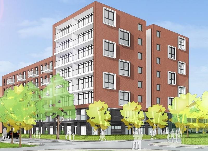 Delft - Ruimtelijke onderbouwing voor 71 appartementen